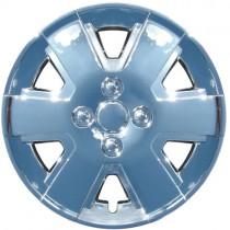 Wheel Covers: Premier Series: 432 SIlver