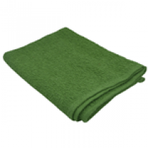 """Green Cotton Terry Towel-26""""x16""""(pack of 12)"""