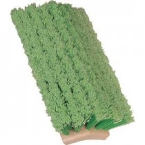 "10"" Bi-Level Fountain Truck/Van/RV Wash Brush-Green Nylon"