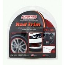 "Cowles Custom Red Trim 1/4"" x 20'"