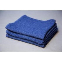 """Blue Cotton Terry Towel-26""""x16""""(pack of 12)"""