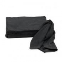 """Black Cotton Terry Towel-26""""x16""""(pack of 12)"""
