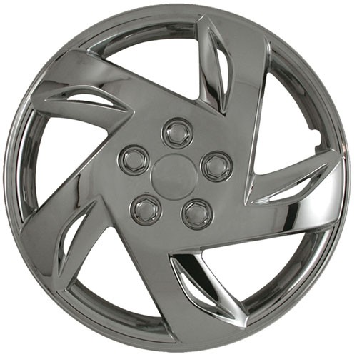 "Wheel Covers: Premier Series: 417 Chrome (15"")"