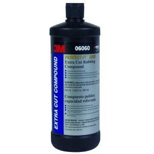 3M Perfect-It Extra Cut Rubbing Compound, 1 Quart (US)/946 mL, 06060