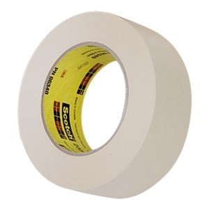 Scotch Automotive Refinish Masking Tape 233, 48 mm width (1.9 inches) 2 inch, 06340
