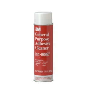 3M General Purpose Adhesive Cleaner, Aerosol, 08987