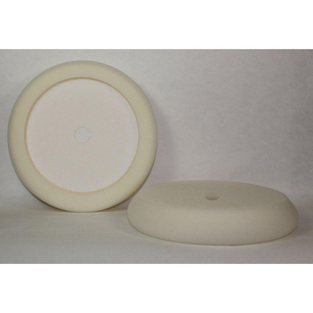 Hi Buff- Heavy Cut White Classic Foam Pad