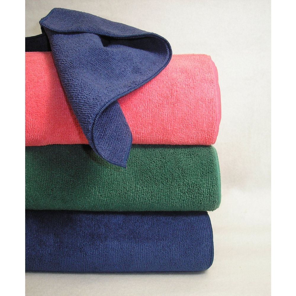 """Deluxe Detailing Towel-Red 15""""x25"""""""