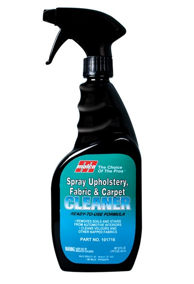 Spray Upholstery Fabric And Carpet Cleaner 220z Malco