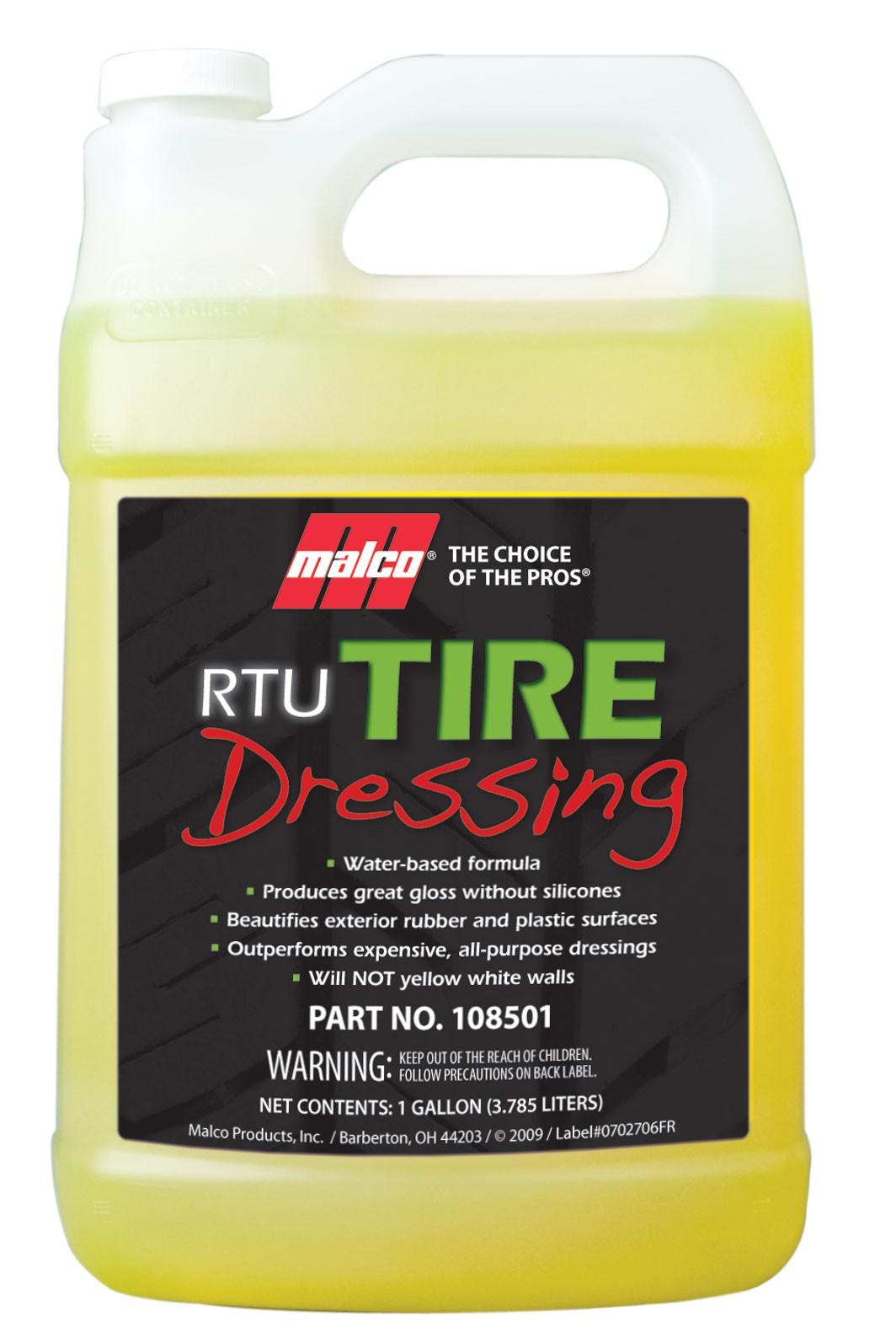 RTU Tire Non-Silicone Dressing (1Gal)