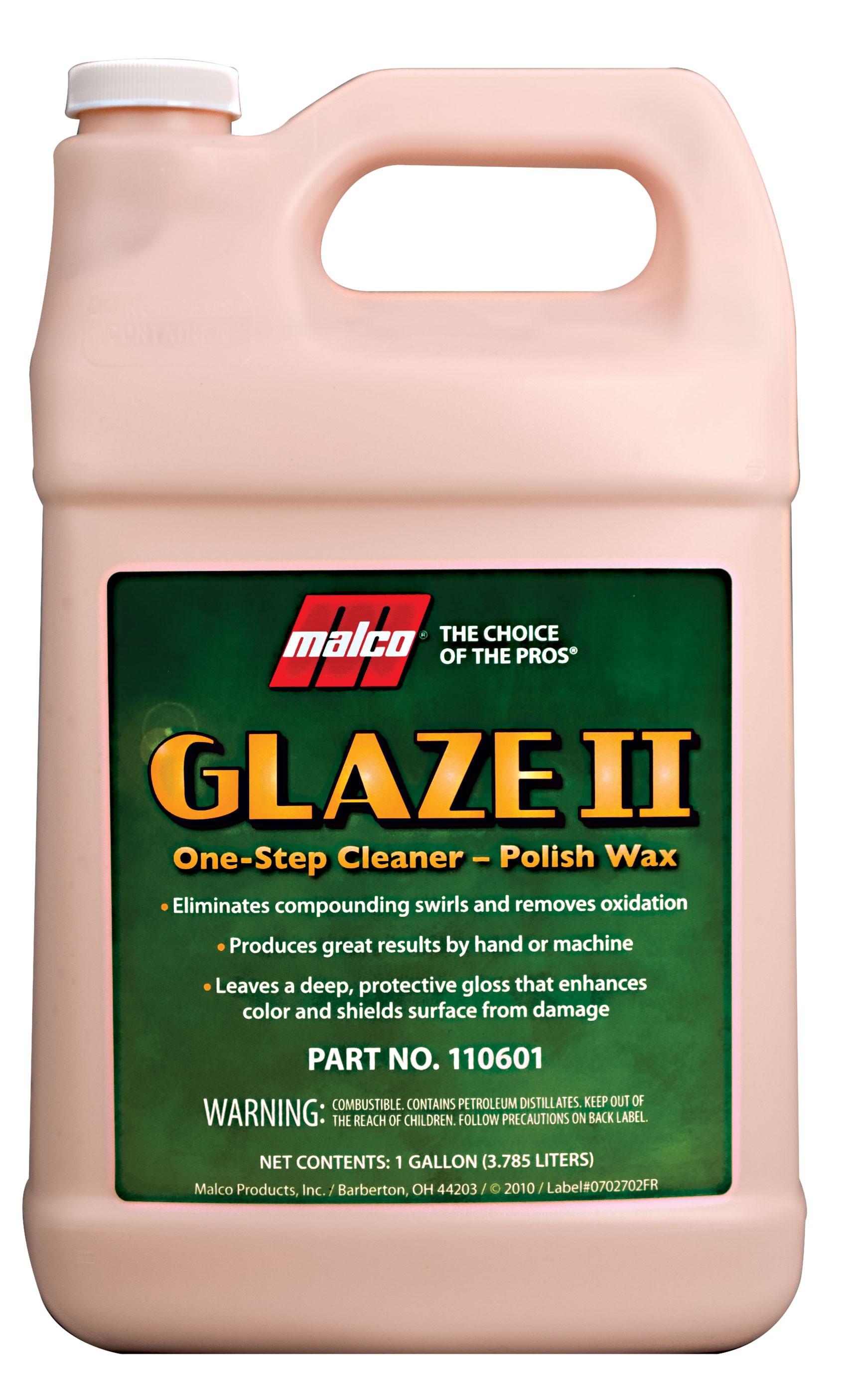Glaze II - One-Step Cleaner-Polish Wax (1Gal)