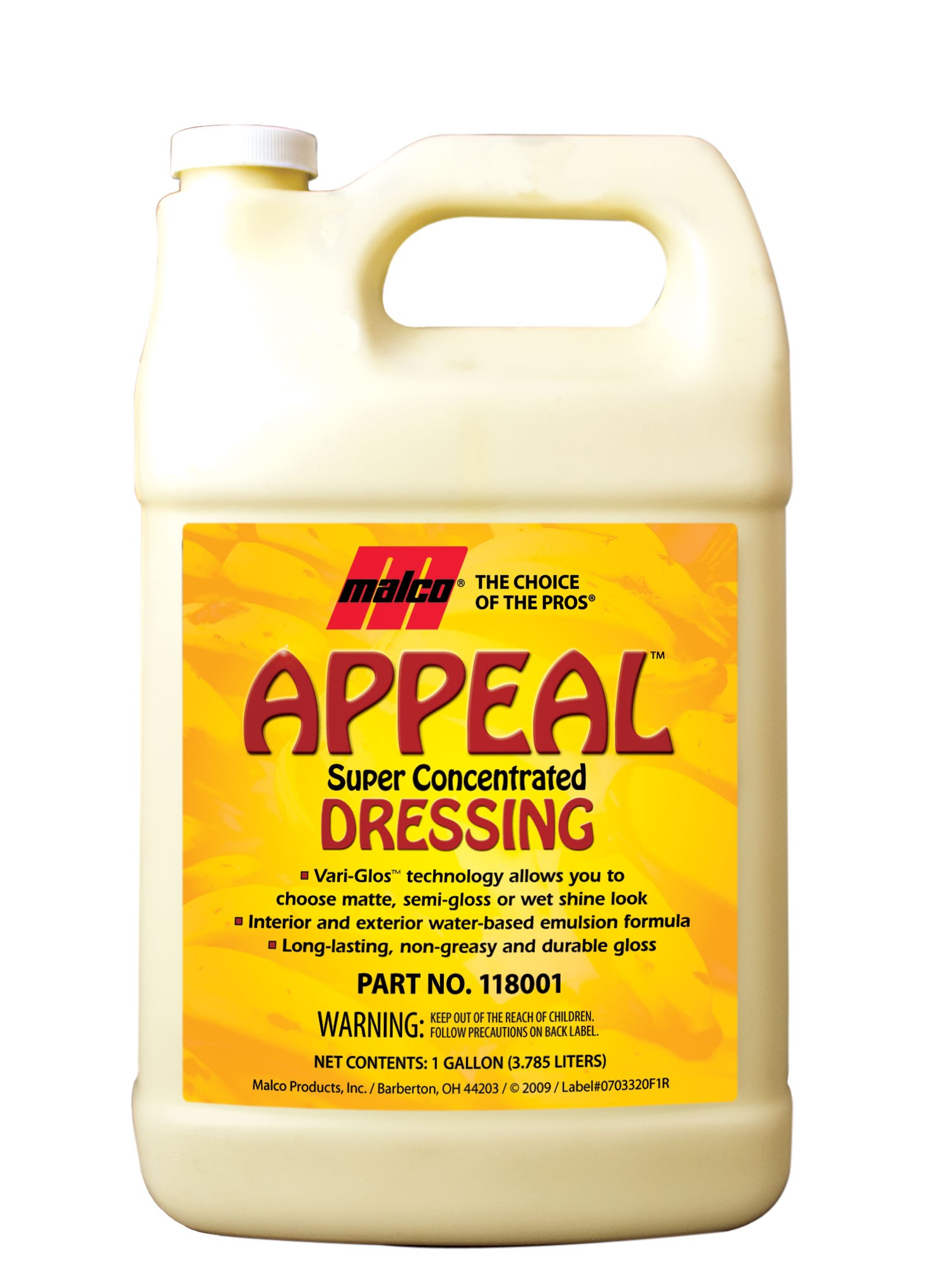 Appeal Super Concentrated Dressing (5Gal)
