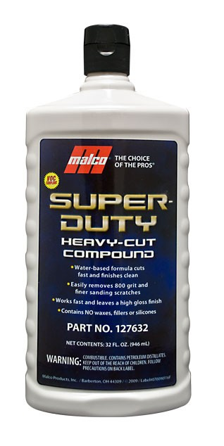 Super-Duty Heavy-Cut Compound 32 oz.