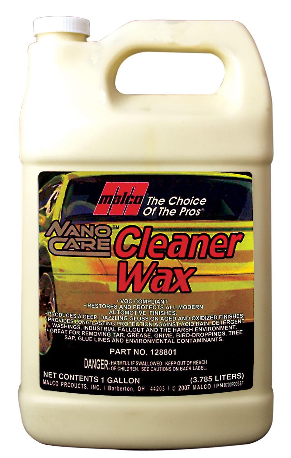 Nano Care Cleaner Wax (1Gal)