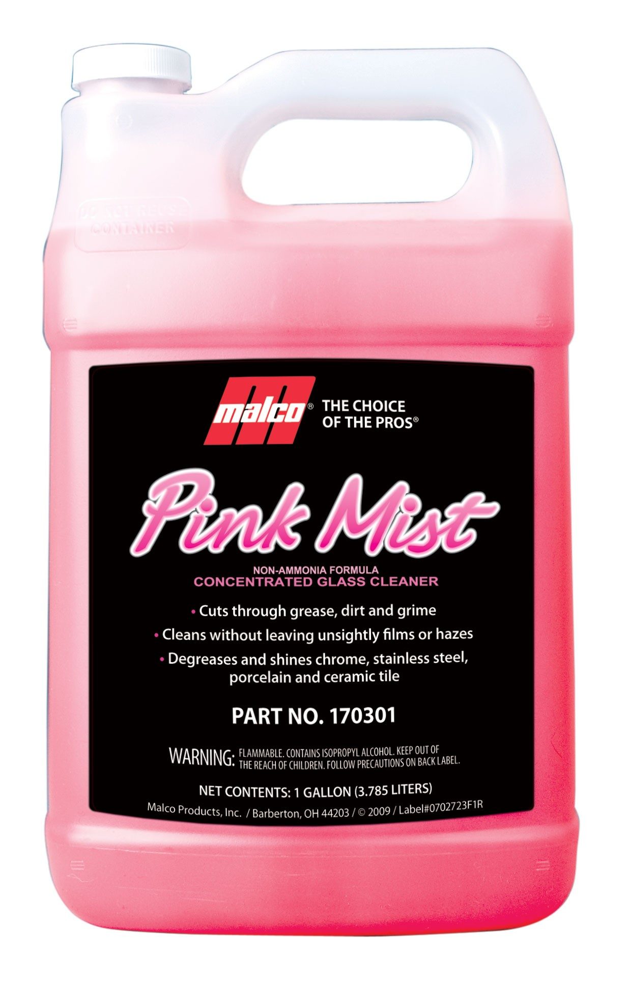 Pink Mist Concentrated Glass Cleaner