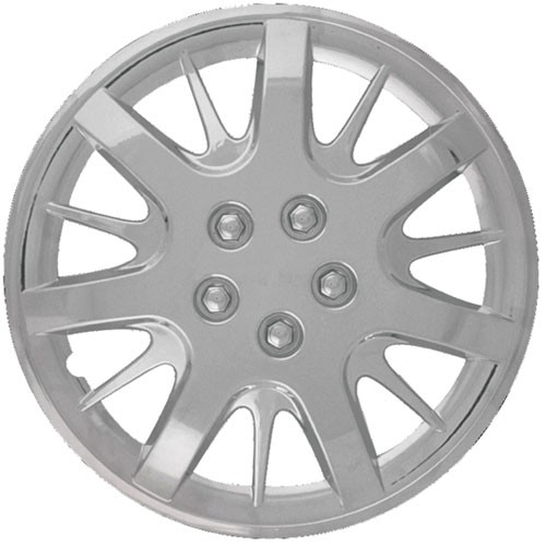 """Wheel Covers: Premier Series: 188 Silver or Chrome (16"""")"""