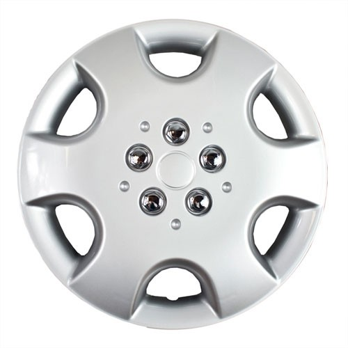 Wheel Covers: Premier Series: 411 Chrome or Silver