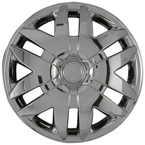 """Wheel Covers: Premier Series: 416 Chrome or Silver (16"""")"""