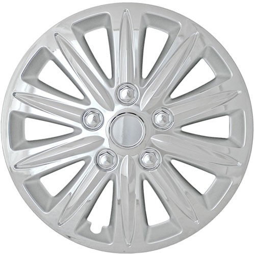 "Wheel Covers: Premier Series: 420 Chrome (15"")"