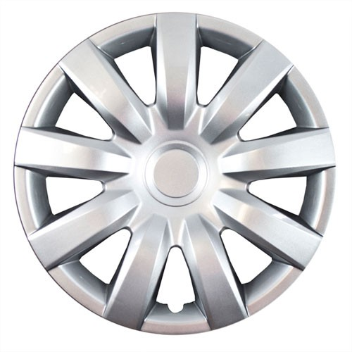 """Wheel Covers: Premier Series: 423 Silver or Chrome (15"""")"""