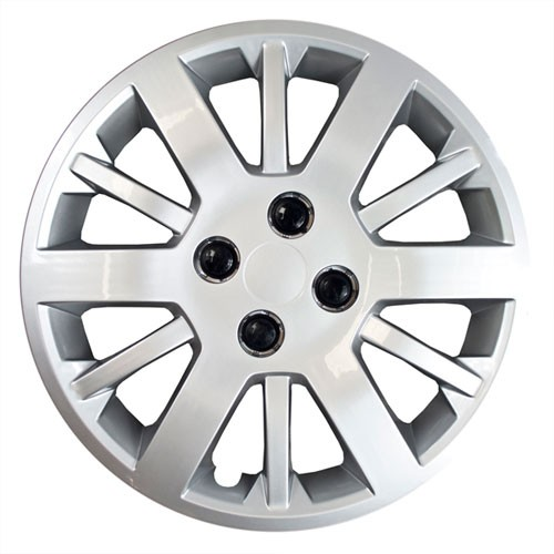 "Wheel Covers: Premier Series: 453 Silver (15"")"