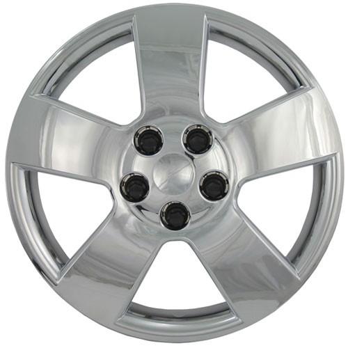 "Wheel Covers: Premier Series: 459 Silver (16"")"
