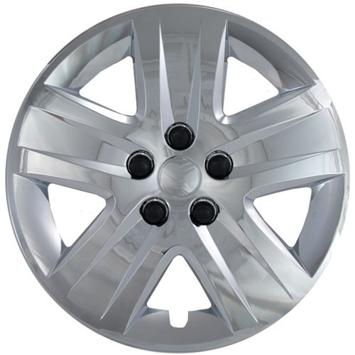 "Wheel Covers: Premier Series: 465 Chrome (17"")"