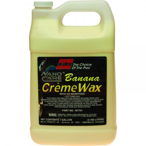 Nano Care Banana Creme Wax 1 Gal.