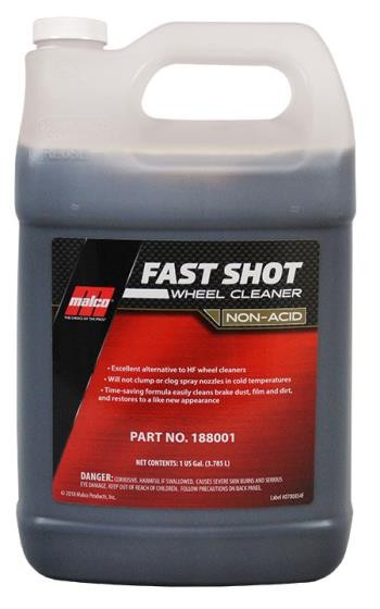Malco Fast shot Wheel cleaner non acid