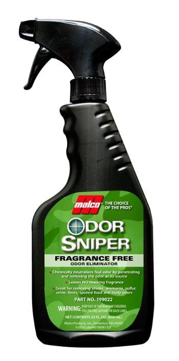Odor Sniper Fragrance-Free Eliminator (22oz)