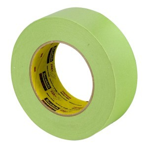 Scotch Performance Green Masking Tape 233+, 48 mm width (1.9 inches)2 inch, 26340
