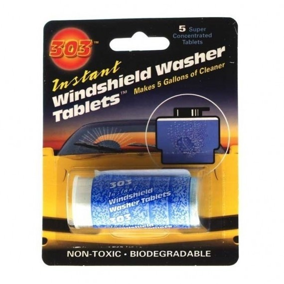 303 Instant Windshield Washer Tablets