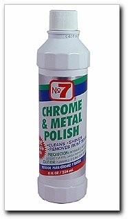 No. 7 Chrome & Metal Polish Liquid 8 fl. oz.