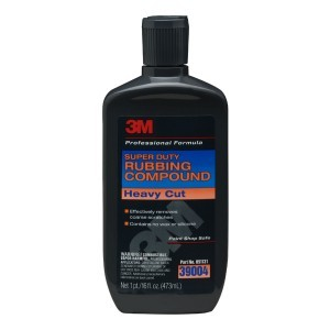 3M Super Duty Rubbing Compound, 16 ounce, 39004