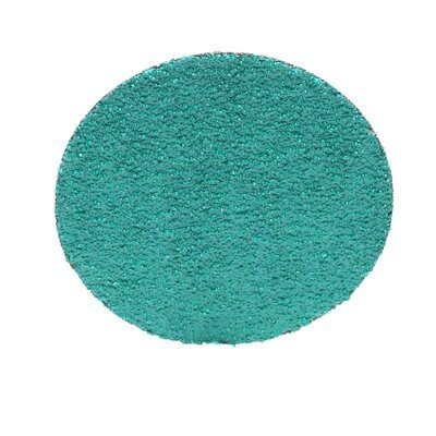"3"" Coated Quick Change Disc, TR Roll-On/Off Type 3, 24, Coarse, Zirconia Alumina, 25 PK"