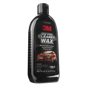 3M One Step Cleaner Wax, 16 ounce, 39006