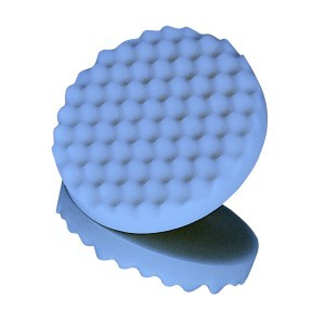 3M Ultrafine Foam Polishing Pad, Single Sided, Flat Back, 05751 2 PADS PER BAG