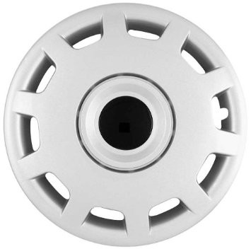 "Wheel Covers: Premier Series: 413 Silver (15"")"