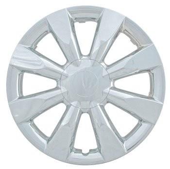 "Wheel Covers: Premier Series: 424 Chrome (15"")"