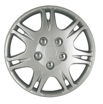 "Wheel Covers: Premier Series: 8813 Silver (16"")"