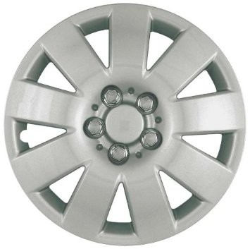 "Wheel Covers: Premier Series: 410 Silver (15"")"