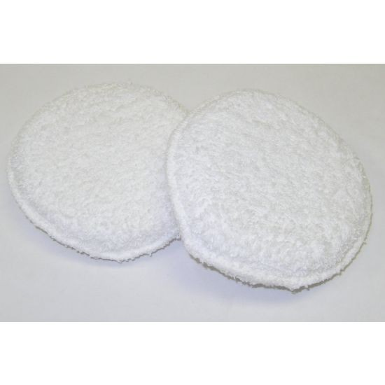 ROUND TERRY WAX PAD - 5""