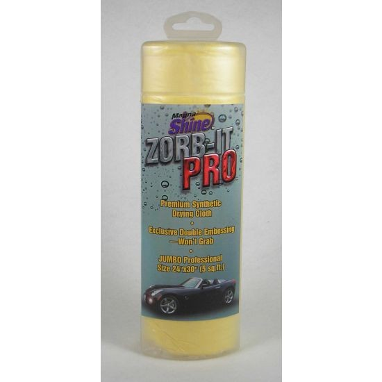 """ZORB-IT PRO SYNTHETIC DRYING CLOTH - 24""""x30"""" TUBE"""