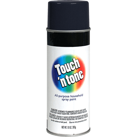 Touch N Tone Semi-Gloss Black Spray Paint