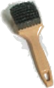 Whitewall/Sidewall Tire Brush-Steel Wire