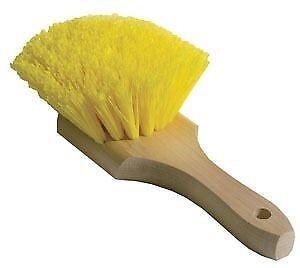 Wheel, Fender and Wheel Well Scrub Brush-Yellow Polypropylene