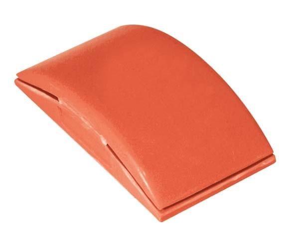 """5"""" Red Vinyl Sanding Block"""