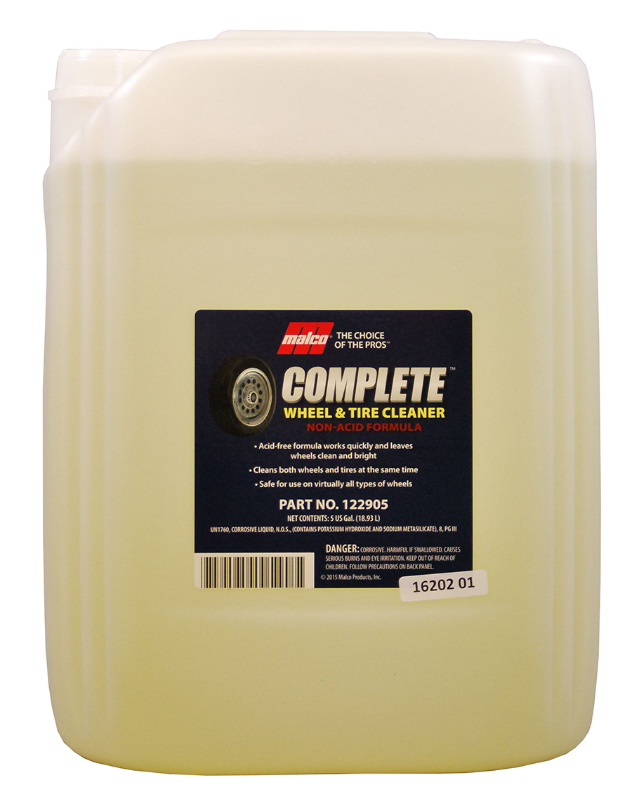 Complete Wheel & Tire Cleaner Non-Acid Formula (5Gal)