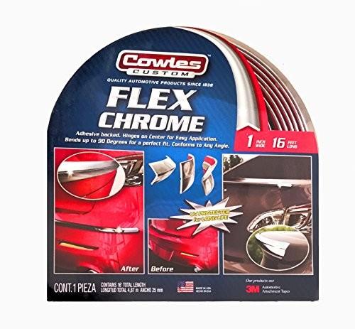 "Cowles Custom Flex Chrome 1"" x 16'"