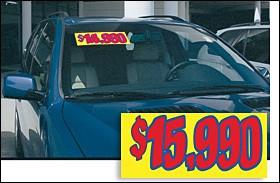 3-Color Pricer Sign
